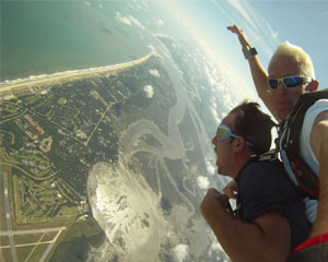 Skydiving Jacksonville, Weekend - 10,000ft Jump