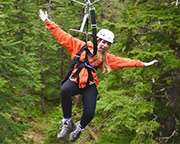 Ketchikan Rainforest Zipline and Canopy Adventure, 3 Hours