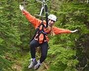 Ketchikan Rainforest Zipline and Canopy Adventure, 3 Hours
