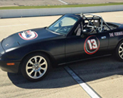 SCCA Mazda Miata 3 Lap Ride Along - Chuckwalla Valley Raceway