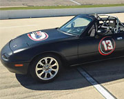 SCCA Mazda Miata 3 Lap Ride Along - Milwaukee Mile Speedway