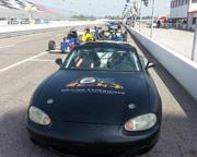 SCCA Mazda Miata 3 Lap Ride Along - Sandia Speedway