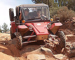 Tomcar Rental Half Day, 2 Seater - Sedona