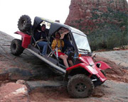 Tomcar Rental Half Day, 4 Seater - Sedona