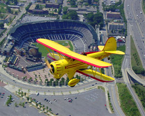 Biplane Ride Atlanta, Downtown Tour - 25 Minutes