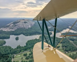 Biplane Ride Atlanta, Stone Mountain Tour - 25 Minutes