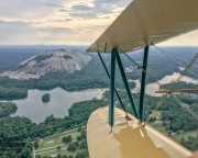 Biplane Ride Atlanta, Downtown and Stone Mountain Tour - 40 Minutes