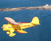 Biplane Ride Acadia, Lighthouse Tour - 40 Minutes