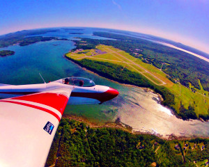 Glider Flight Acadia for 2, 4,00ft - 40 Minutes