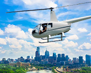 Helicopter Ride, Princeton to Philadelphia - 1 Hour