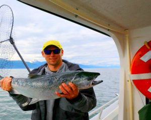 Alaskan Wild Salmon Fishing Tour, Juneau - Full Day