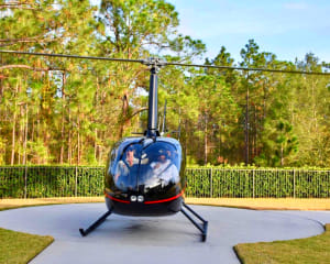 Helicopter Ride Orlando, Theme Parks and Celebrity Homes - 25 Minutes