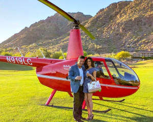 Helicopter Tour Phoenix, Paradise Valley - 15 Minutes