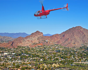 Helicopter Tour Phoenix, Desert Lakes - 40 Minutes