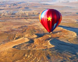 Hot Air Balloon Ride Sacramento, Sunrise - 1 Hour Flight