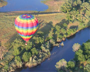 Private Hot Air Balloon Ride Sacramento, Weekday - 1 Hour Sunrise Flight