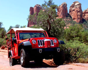 4x4 Jeep Tour Soldiers Pass Trail, Sedona