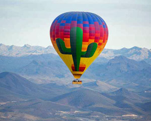 Hot Air Balloon Ride Phoenix, Sonoran Desert - 1 Hour Sunrise Flight