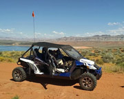 Extreme UTV Tour St. George, up to 3 riders - 2 Hours
