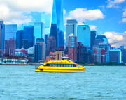 NYC Helicopter Tour & Statue of Liberty Night Cruise - VIP Package