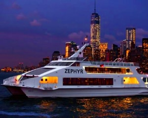 Statue of Liberty Night Cruise, New York Water Taxi - 1 Hour