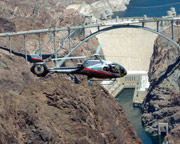 Helicopter Ride Las Vegas and Hoover Dam - 35 Minute Sunset Flight (Hotel Shuttle Included)