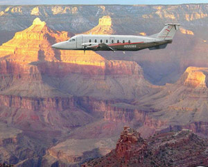 Grand Canyon South Rim Plane Tour with Landing - 7.5 Hours (Includes Vegas Hotel Shuttle!)