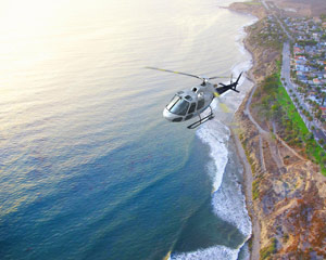 Private Helicopter Ride Los Angeles, Beaches and LAX - 30 Minutes