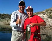 Fishing Charter Phoenix, Lake Pleasant - Half Day