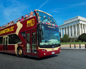 Open-top Bus Tour Washington DC - Day Pass