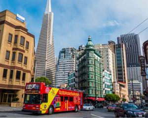 San Francisco Bus Tour, 2 Day Hop-On-Hop-Off Tour