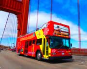 San Francisco Bus Tour, 3 Day Hop-On-Hop-Off Tour With Alcatraz Tour