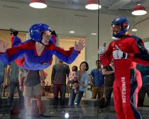 Indoor Skydiving Dallas - Earn Your Wings