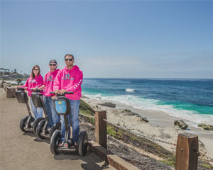 Segway Tour San Diego, La Jolla Tour - 2 Hours