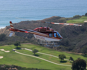 Helicopter Ride San Diego for 4 - 35 Minutes