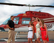 Helicopter Ride San Diego, Mexico Border Tour for 4 - 45 Minutes