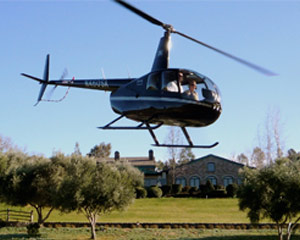 Helicopter Ride Temecula - Thornton Winery - 3 hours