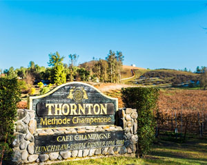 Helicopter Ride Temecula for 4 - Thornton Winery 3 hours