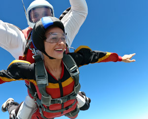 Skydiving Crystal Beach, Houston - 11,000ft Jump