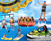 Miami Flyboard, Jet Ski, Kayak & Parasail - SPECIAL COMBO PACKAGE
