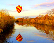 Hot Air Balloon Ride Upstate NY - 1 Hour Flight