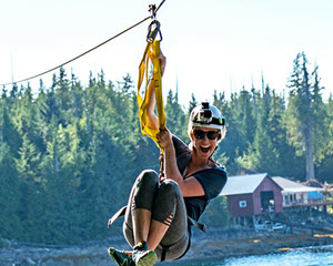 Ketchikan Zipline Adventures, Tongass National Forest - 3.5 Hours
