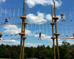 High Ropes Course Kersey Valley - 2 Hours