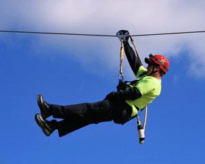Ziplining Kersey Valley - 10 Lines