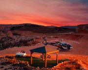 Sunset Grand Canyon Helicopter Tour with Canyon Landing and Picnic - 3.5 Hours