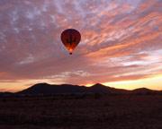 Hot Air Balloon Ride Phoenix, Sonoran Desert - 1 Hour Sunset Flight