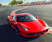 Ferrari 458 Italia Drive - Las Vegas Motor Speedway
