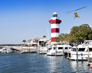 Helicopter Ride Savannah, Hilton Head and Tybee Island - 1 Hour