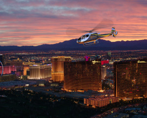 Las Vegas Helicopter Ride, City Lights Tour - 12 Minute Flight (Includes Limo Transport from Hotel)