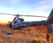 Sunset Grand Canyon and Valley of Fire Helicopter Tour with Champagne Landing, Las Vegas - 4 Hours (FREE ROUND TRIP SHUTTLE FROM HOTEL!)
